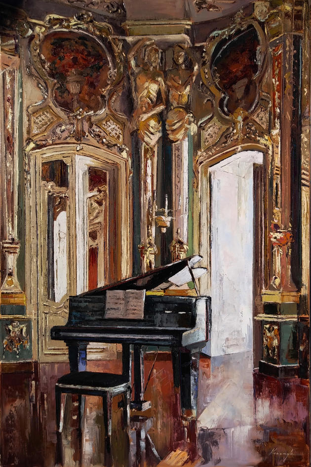 """Concerto On Piano and Light"""
