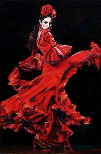 """""""Flamenco Dancer #3"""""""