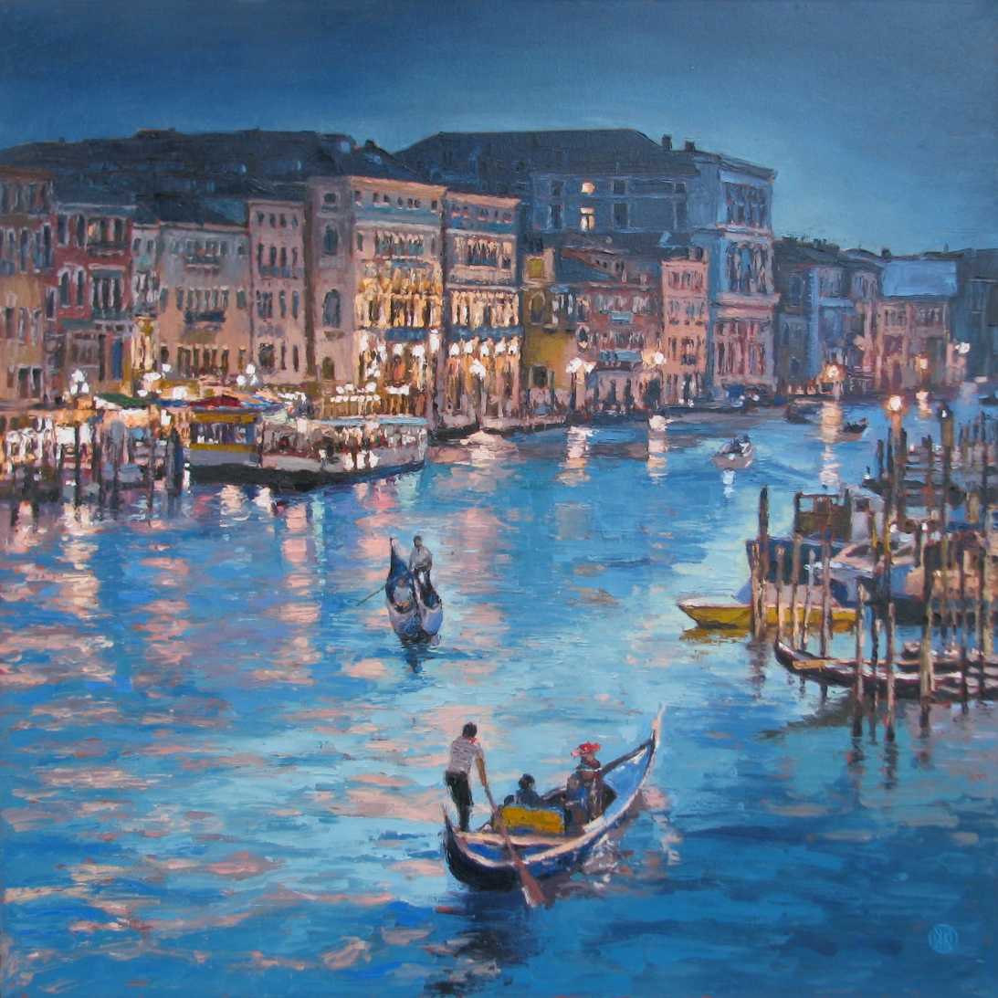 """Grand Canal""   SOLD"