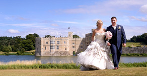 Ross and Emma at Leeds Castle, Kent