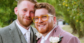 Ben and Dan's Country House Wedding at Lillibrooke Manor, Berkshire