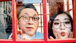 Yajie and Jianlin's Micro Wedding at The Mayor's Parlour, Hammersmith Town Hall, London