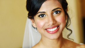 Thushani and Tim at Gildings Barn, Dorking, Surrey