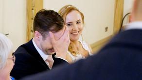 Natalie and Matthew's wedding at Riverdale Barn, Yateley, Hampshire
