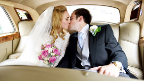 Natalie and Lucas at St Lawrence Jewry Church and Drapers Hall, City of London