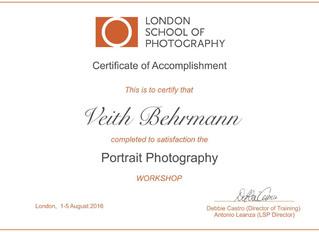 Portrait Workshop London 1.-5. Aug 2016