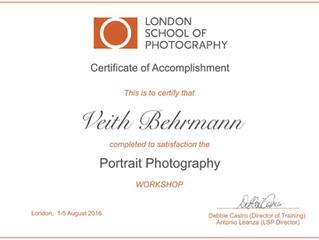Portrait Workshop London 1.-5. Aug 2016