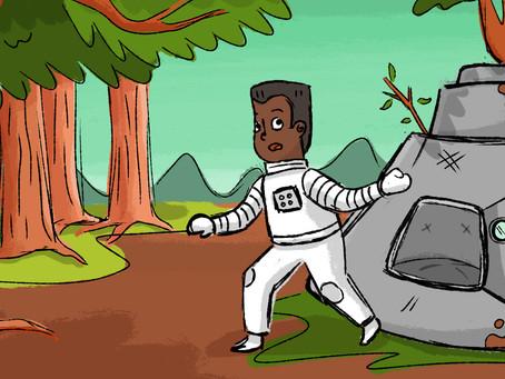 El Astronauta en el Bosque