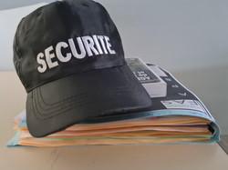 casquette sécurité