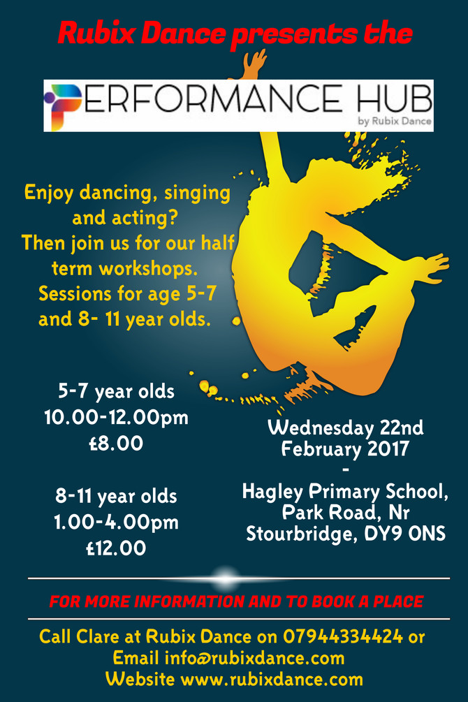 Half Term Musical Theatre Workshops