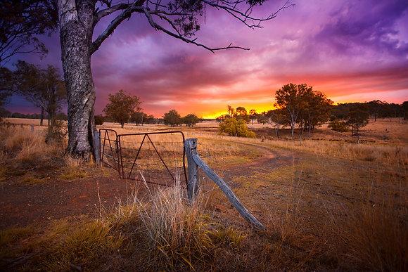 Goombungee Sunset