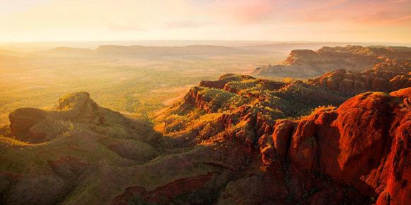 Ragged Range Panorama