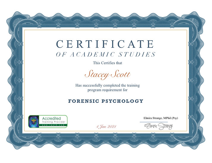 Forensic Psychology Certificate.jpeg
