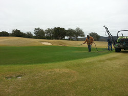 On the putting green