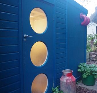 Artshed - studio in my garden update