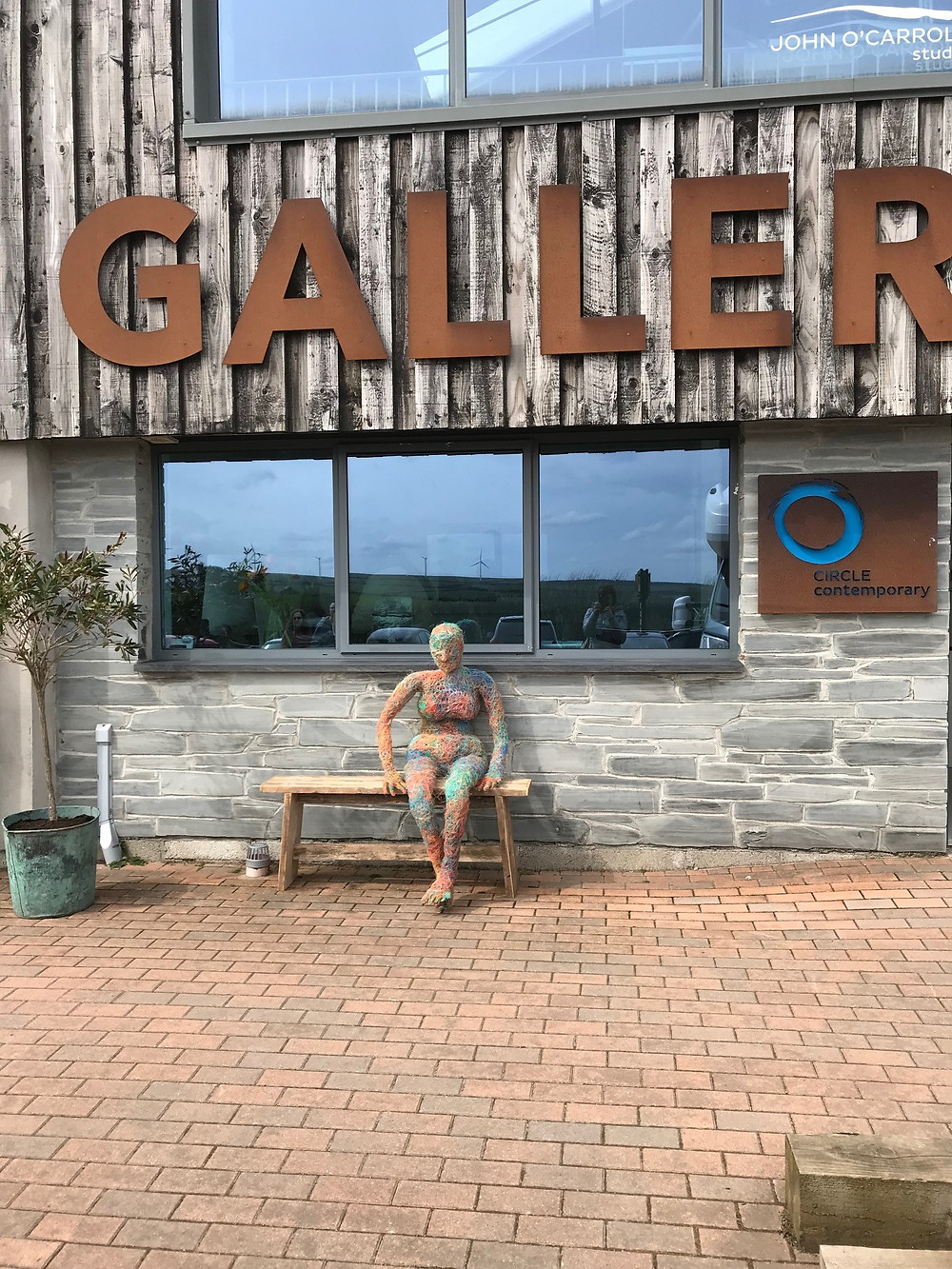 A'net visits the circle gallery