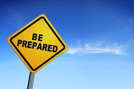 Be Prepared~