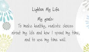 Lighten the Load ~ LIFE