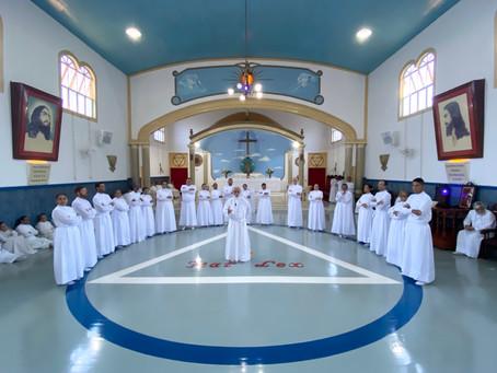 Novos Obreiros no Templo Universal