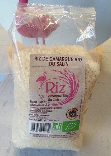 Riz rond Blanc du Salin 500 grs