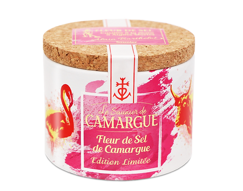 Boite carton 125 g Edition Limitée Fleur de Sel de Camargue 116247