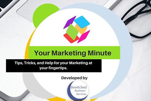 Your Marketing Minute Membership