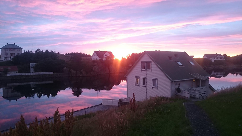 An evening at Andreasbua.