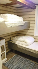 Bedroom with bunk bed