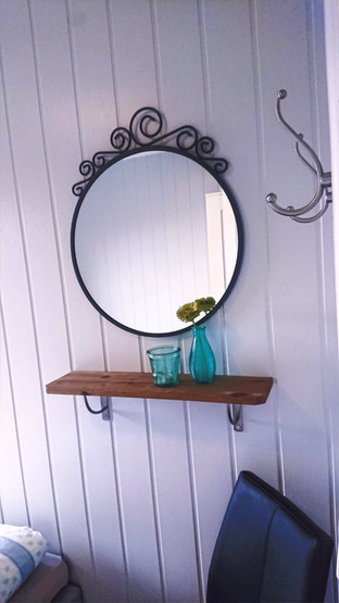 Mirrors in all bedrooms
