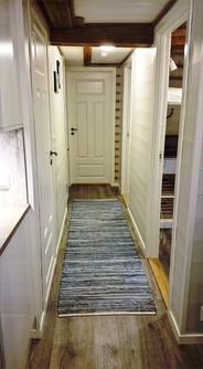 The hallway on Sørbu -