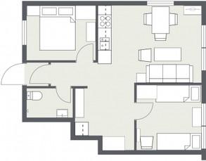Pernillebu I - floor plan