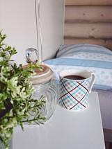 Kaffi på senga. <3