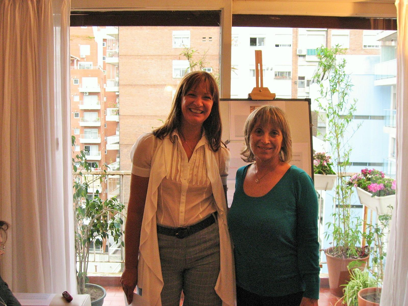 Claudia Rizzi y May De Chiara
