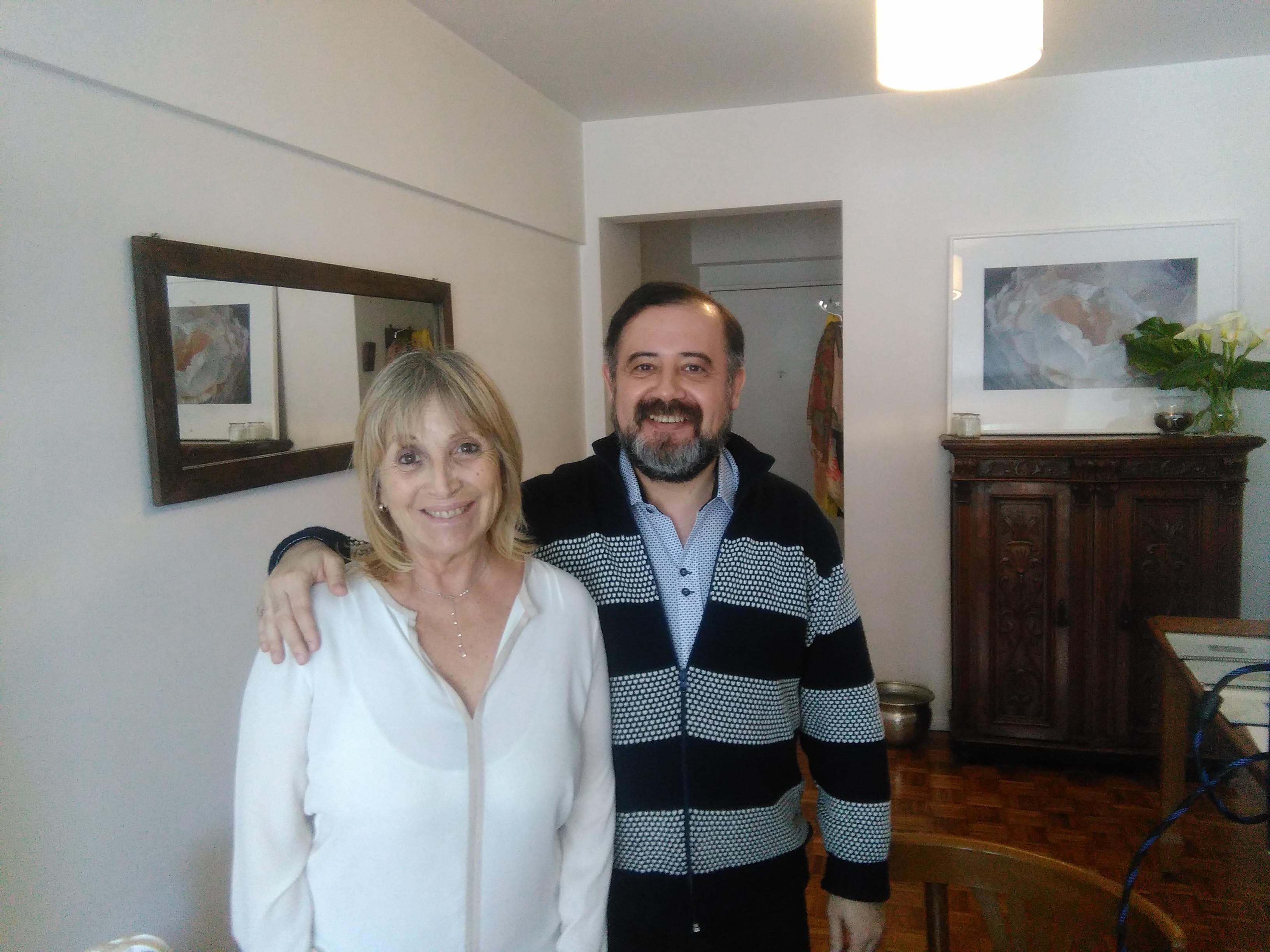 Sergio Barreiro y May De Chiara