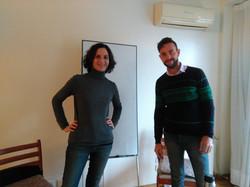 Eliane Btesh y Diego Berlingeri