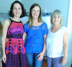Claudia Rizzi y equipo Astropsique