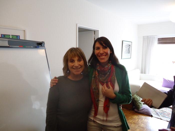 May De Chiara y Martina Carutti