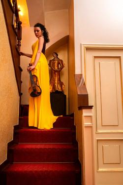 Stella manfredi Violinista NApoli