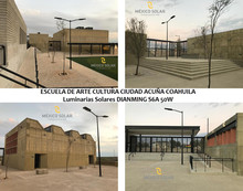 ESCUELA DE ARTE Y CULTURA CIUDAD ACUÑA, COAHUILA. SEDATU