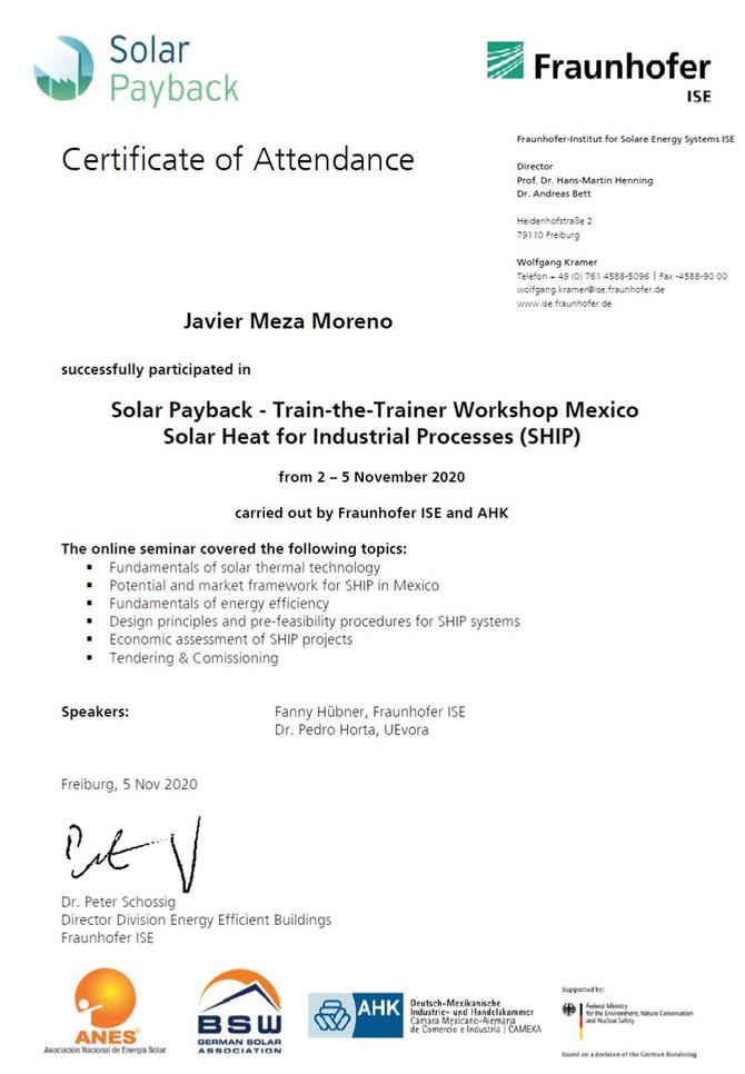 Solar Heat Industrial Processes (SHIP)