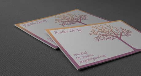 Positive Living Business Cards