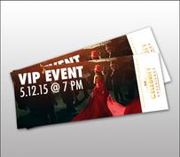 Event Tickets Design