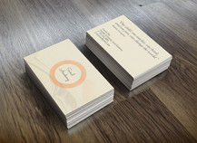 Saral Academy - Business Cards