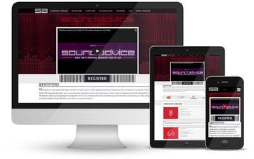 Sound Advice Website (Responsive)