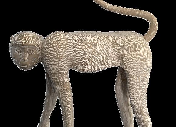 Large Modernist Monkey Sculpture, Manner of Lalanne