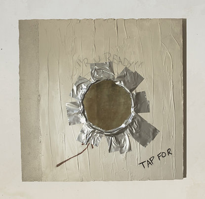 Glory Hole Mirror - Duct Tape