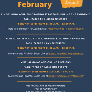 Fundraising February at AEN