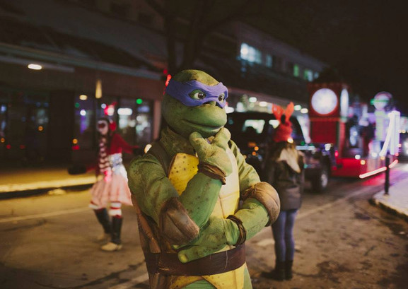 Défilé du Père-Noël - Quartier Villeray