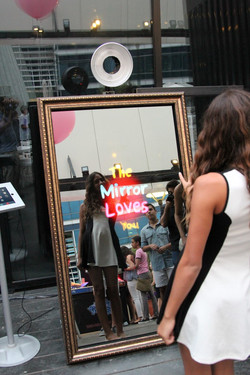 Photobooth miroir