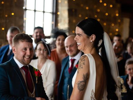 Sam & Gary // Wedding Photography at Raven Hall Hotel, Scarborough